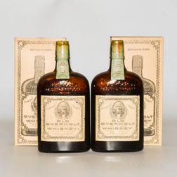 Old Overholt 11 Years Old 1921, 2 pint bottles (oc)