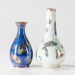 Two Wedgwood Lustre Vases