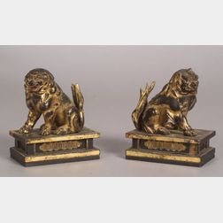 Pair of Temple Dogs