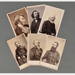 Cartes-de-Visite Album of Prominent 19th Century Figures