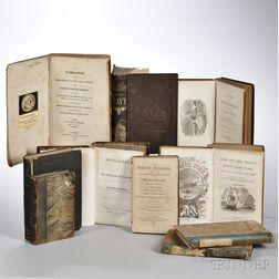 Maritime Subjects, 19th Century, Nine Titles in Ten Volumes.