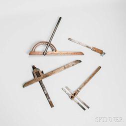 Four Holtzapffel Measuring Instruments