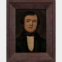 William Matthew Prior (Massachusetts/Maine, 1806-1873)      Portrait of a Gentleman
