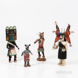 Four Contemporary Katsinas