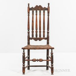 Bannister-back Side Chair