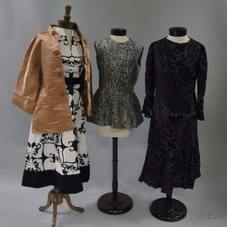 Seven Vintage Clothing/Textile Items