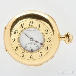 Touchon & Co. 18kt Gold Demi-hunter Case Minute Repeating Watch