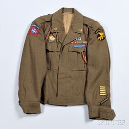 Eisenhower Jacket, 17th and 82nd Airborne Division