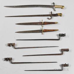 Nine Bayonets