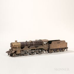 English Live Steam 4-6-0 Locomotive and Tender