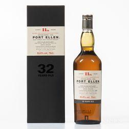 Port Ellen 32 Years Old 1979, 1 70cl bottle (oc)