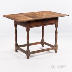Cherry, Maple, and Oak Tavern Table