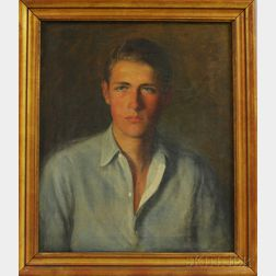 American School, 20th Century      Portrait of a Young Man