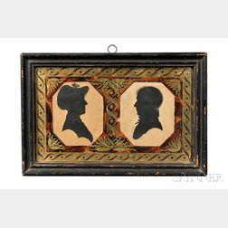 Double Silhouette Portrait