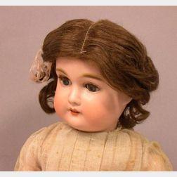 Gebruder Kuhnlenz Bisque Head Doll