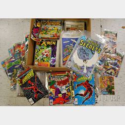 Collection of Bronze Age Comic Books