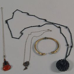Four Antique Jewelry Items