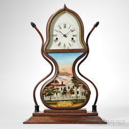 J.C. Brown Rosewood Acorn Clock