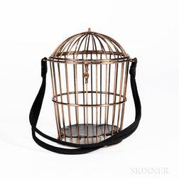 Gilt-brass Birdcage Handbag