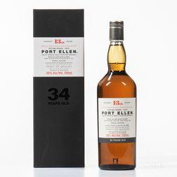 Port Ellen 34 Years Old 1978, 1 750ml bottle (oc)