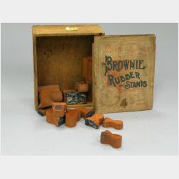 Brownie Rubber Stamps