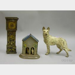 Three Decorative and Collectible Metal Items