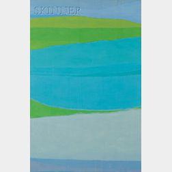 Reba Stewart (American, 1930-1971)      Riverscape