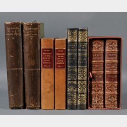Theater Biography, Four Titles in Eight Volumes: