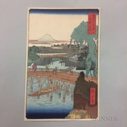 Ando Hiroshige Reproduction Woodblock Print