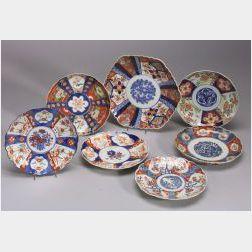 Seven Imari Plates