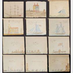 Attributed to Captain Joseph Harris, (Nantucket, Massachusetts, 1752-1823)