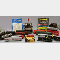 Group of Toy Trains and Cars