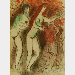 Marc Chagall (French,  1887-1985)      Paradise