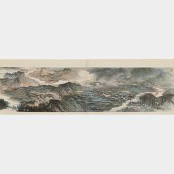 Book of Zhang Daqian Landscape