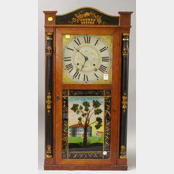 Orton Preston Stenciled Shelf Clock