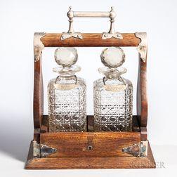 Oak Liquor Case or Tantalus