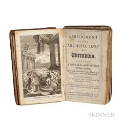 Vitruvius (80-70 BC-15 BC) An Abridgment of the Architecture of Vitruvius.