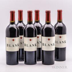 Grace Family Vineyards Cabernet Sauvignon Blank Vineyard, 6 bottles