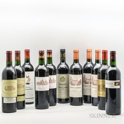 Mixed Left Bank Bordeaux, 11 bottles
