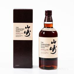 Yamazaki Sherry Cask 2013, 1 750ml bottle (oc)