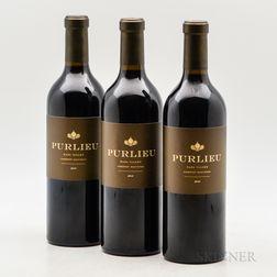 Purlieu Cabernet Sauvignon 2014, 3 bottles