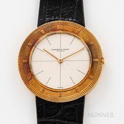 "Audemars Piguet 18kt Gold ""Disco Volante"" or ""Flying Saucer"" Reference 5093 Wristwatch"