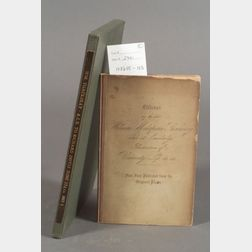 Thackeray, William Makepeace (1811-1863), Two Items