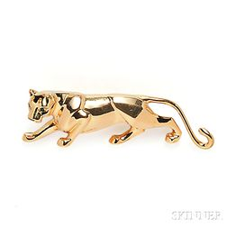 "18kt Gold ""Panthere"" Brooch, Cartier"