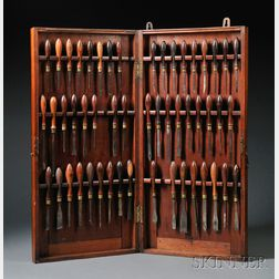Fifty-one Ornamental Turning Tools
