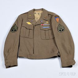 Eisenhower Jacket Owned by a Technical Sargent in the 13th Airborne Division