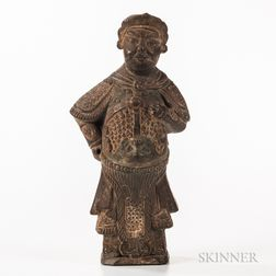 Stone Figure of a Warrior