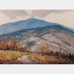 "John F. Enser (American, 1898-1968)      ""Early Morning"" New Hampshire"