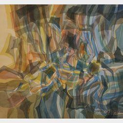 Robert Eshoo (American, b. 1926)      Engulfed Light