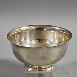 Sterling Silver Tiffany & Co. Revere Bowl